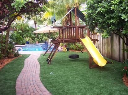 artificial turf playgrounds