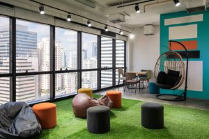 Floors with Artificial Grass