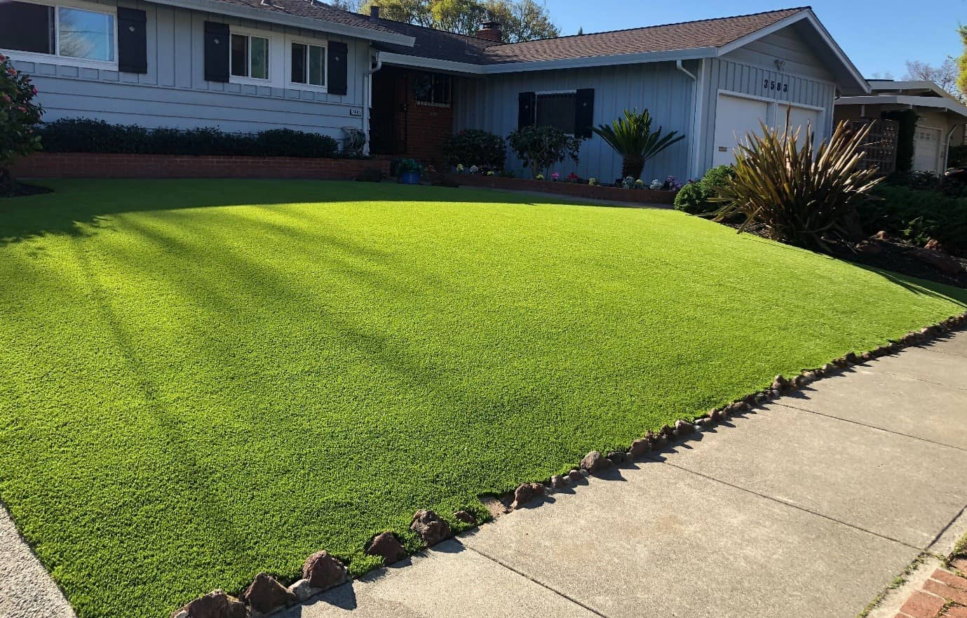 Exciting Front Yard Landscaping Ideas With Atlanta Artificial Grass